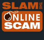 Slam the Online Scam Logo